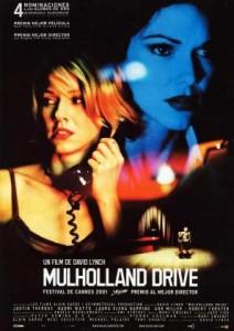 Cartel película Mulholland Drive