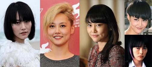 Imágenes de la actriz japonesa Rinko Kikuchi