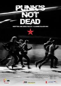 Cartel película Punk's not dead en Madaboutcine