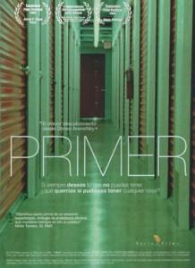 Cartel película Primer en Mad about cine