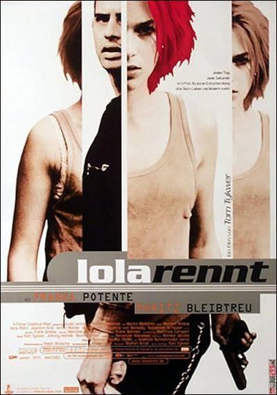 cartel película Corre Lola Corre
