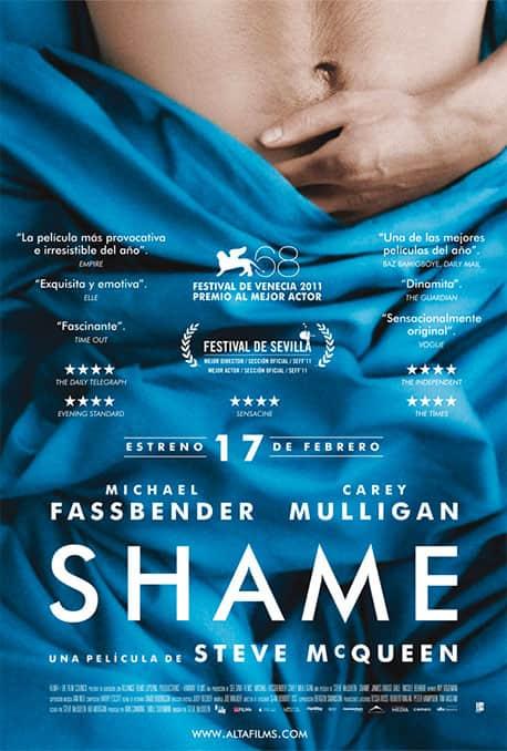 Cartel de la película Shame