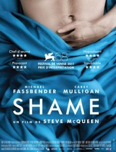 Cartel película Shame