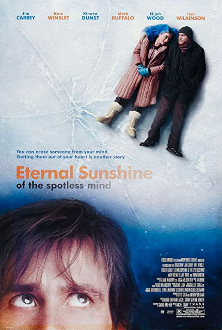 Cartel de la película Olvídate de mí o Eternal Sunshine of the Spotless Mind