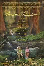 Cartel de la película Moonrise Kingdom de Wes Anderson