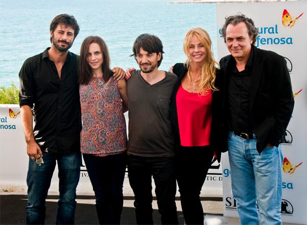 Equipo artístico de El Cuerpo en Sitges 2012