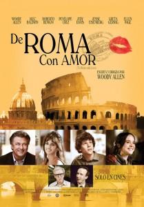 Cartel de la película A Roma con amor