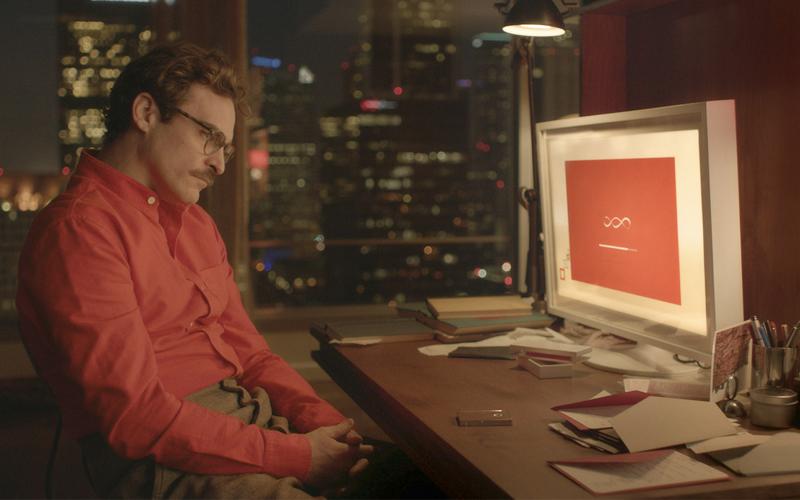 Joaquin Phoenix en una escena de Her